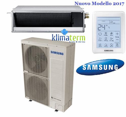 Climatizzatore Condizionatore Samsung LINEA COMMERCIALE Canalizzabile 48000 BTU MSP S media prevalenza AC140MNMDKH INVERTER  NUOVO MODELLO 2017