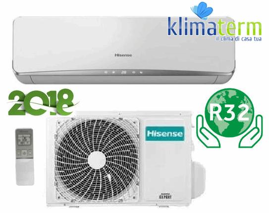 Climatizzatore Condizionatore Hisense serie NEW ECO EASY 18000 btu Monosplit TE50XA00G Inverter Classe A++ Gas R32 - Nuovo Modello 2018